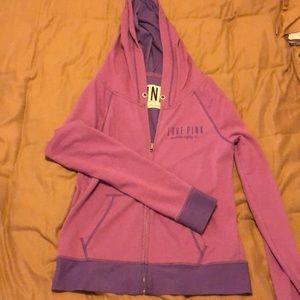 PINK jacket and sweatpants